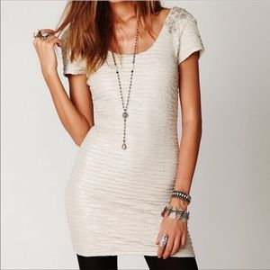 Free People Ruched Bodycon Dress